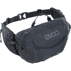 EVOC Hip Pack 3 l + Drinkblaas 1,5 l, black